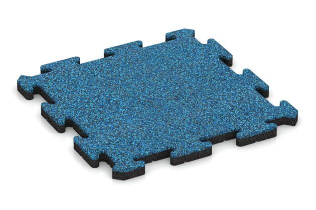 Gehwegplatte pro von WARCO im Farbdesign Atlantik mit den Abmessungen 500 x 500 x 30 mm. Produktfoto von Artikel 2693 in der Aufsicht von schräg vorne.
