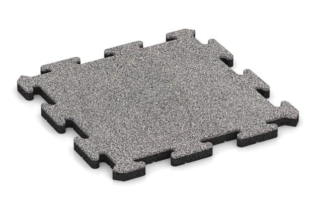Gehwegplatte pro von WARCO im Farbdesign Graue Melange mit den Abmessungen 500 x 500 x 30 mm. Produktfoto von Artikel 4541 in der Aufsicht von schräg vorne.