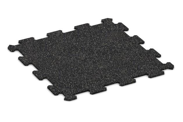 Treppenbelag von WARCO im Farbdesign Leicht Grau Gesprenkelt mit den Abmessungen 478 x 478 x 8 mm. Produktfoto von Artikel 0904 in der Aufsicht von schräg vorne.