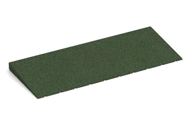 Anti-Stolper-Keil von WARCO im Farbdesign grasgrün mit den Abmessungen 750 x 300 x 40/8 mm. Produktfoto von Artikel 2420 in der Aufsicht von schräg vorne.