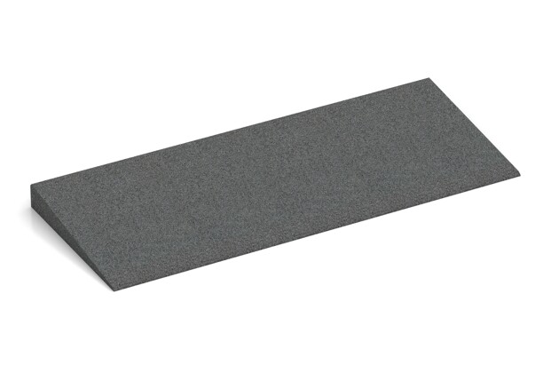 Anti-Stolper-Keil von WARCO im Farbdesign schiefergrau mit den Abmessungen 750 x 300 x 45/8 mm. Produktfoto von Artikel 2461 in der Aufsicht von schräg vorne.