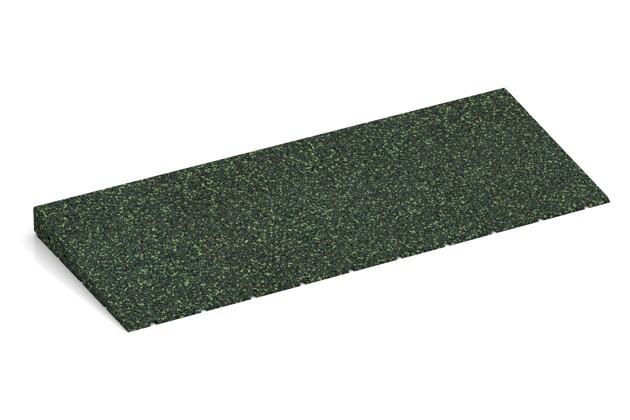 Anti-Stolper-Keil von WARCO im Farbdesign Englischer Rasen mit den Abmessungen 750 x 300 x 45/8 mm. Produktfoto von Artikel 2439 in der Aufsicht von schräg vorne.