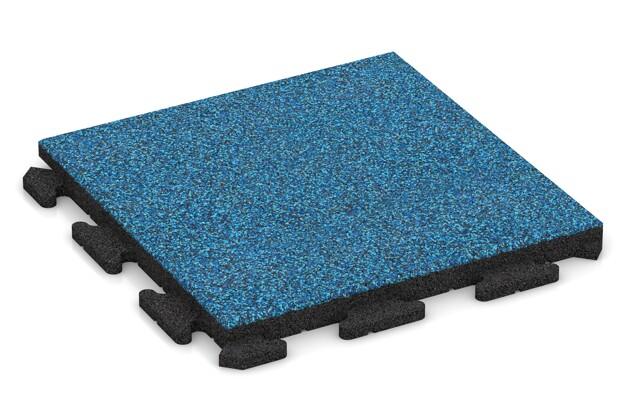 Poolfliese von WARCO im Farbdesign Atlantik mit den Abmessungen 500 x 500 x 40 mm. Produktfoto von Artikel 1349 in der Aufsicht von schräg vorne.