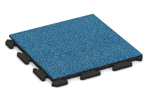 Poolfliese von WARCO im Farbdesign Atlantik mit den Abmessungen 500 x 500 x 30 mm. Produktfoto von Artikel 1216 in der Aufsicht von schräg vorne.
